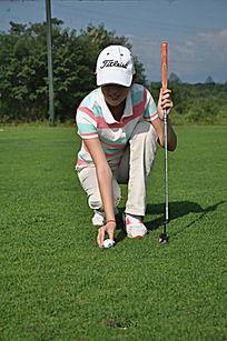 高尔夫球童