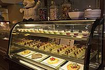 酒店自助餐甜品展示