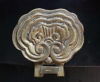铜雕如意图案铜器