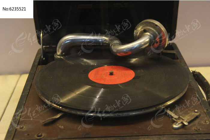 留声机图片,高清大图_文物古董素材