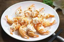 沙律凤尾虾
