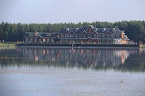 度假村木屋
