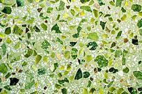 绿色水磨石背景