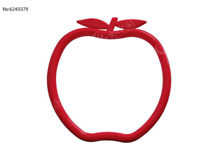 苹果形状的镜子图片,高清大图 日常用品素材 编号6240379