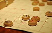棋盘上的中国象棋