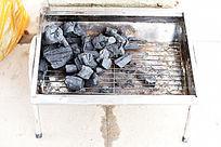烧烤炉子和炭