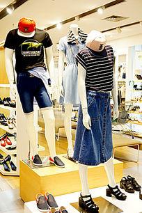 时尚潮流装饰店装饰 设计