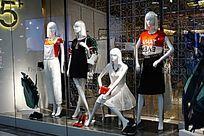 女装模特展示