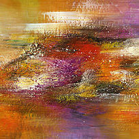 现代艺术抽象油画