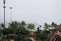 海滨城市一角摄影