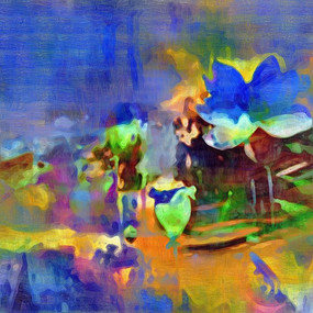 意境抽象油画