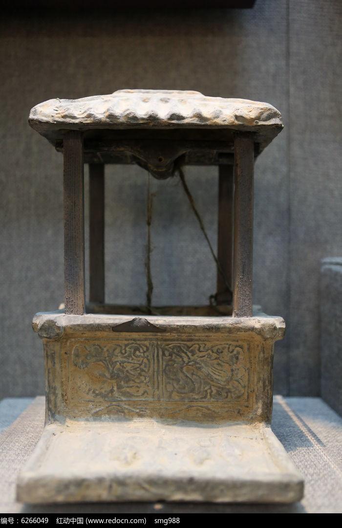 方形古代带亭陶井
