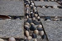 公园里的石子路