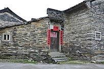 古旧的村屋