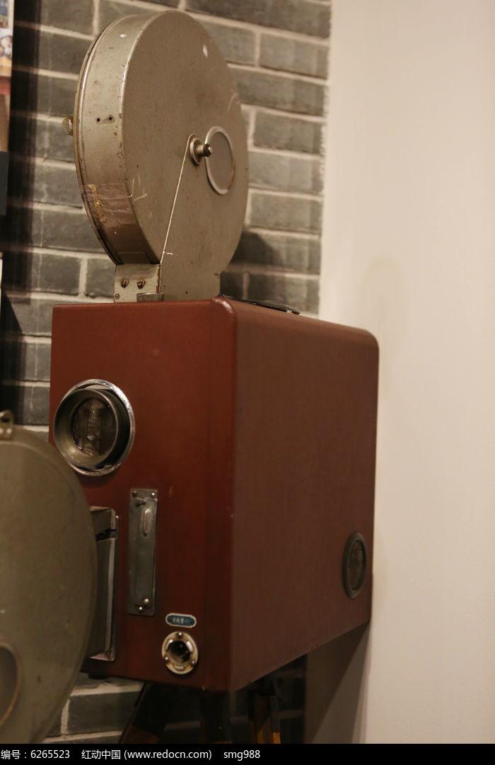 老式的电影放映机