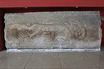 辽代的虎纹石雕