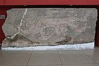 辽代虎纹石雕