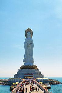 南海海上观音圣像
