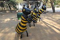 大马蜂雕塑
