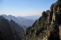 沟壑纵横西海峡谷