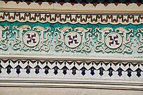 古老建筑花纹
