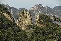 黄山奇石阵