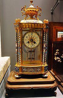 洋楼式座钟