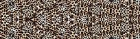 豹纹定位花数码花型