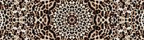 豹纹花型豹纹印花
