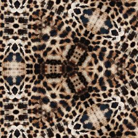 豹纹印花花型