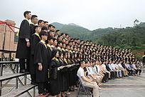 毕业集体照