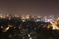 城市美丽夜景