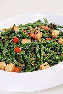 榄菜虾酱四季豆
