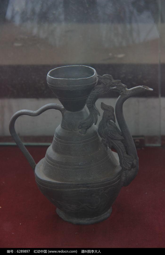 古代酒壶 图片
