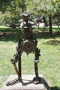 机器人雕像