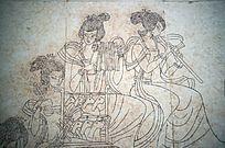 乐器演奏壁画