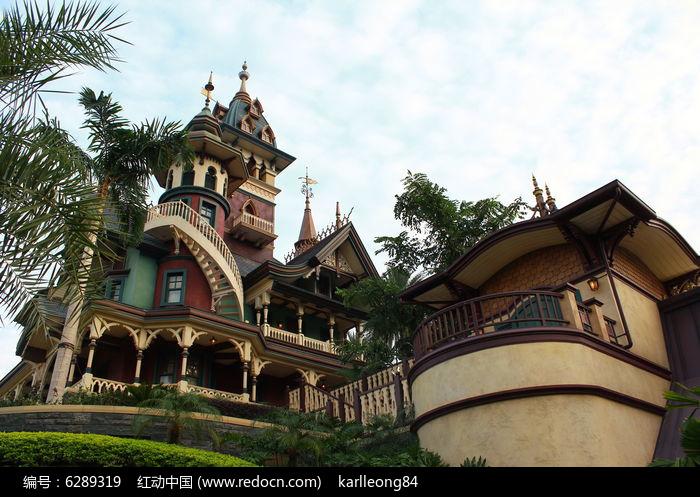 欧式古堡建筑高清图片下载 编号6289319 红动网