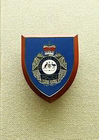 澳大利亚警务标志纪念牌