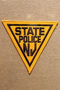 美国警察臂章双三角形图案