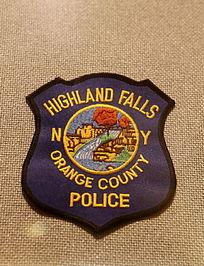美国警察臂章异形乡间村庄图案