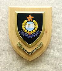 香港特别行政区警务标志纪念牌