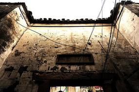 三林古镇老门楼砖墙