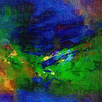 高清抽象油画图壁画背景墙