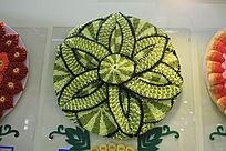 毛线编织花卉图案