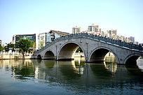 温州南塘河面石拱桥