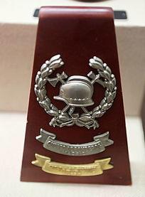 西班牙警务标志纪念牌