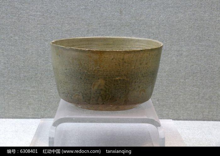 原始青瓷钵图片