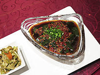 中华名小吃巫山翡翠凉粉