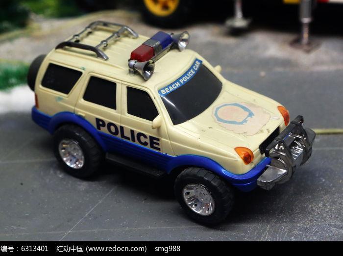 白色警车模型图片,高清大图_民间收藏素材