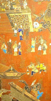 清代古代市井图